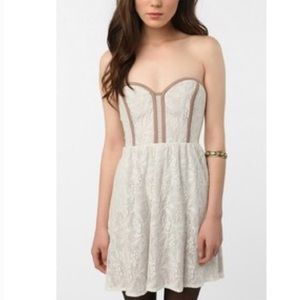 Urban Outfitters Pins and Needles Strapless Dress